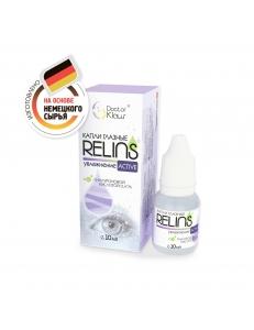 """Капли RELINS ACTIVE c кислотой гиалуроновой  0,41%, 10 мл., , 12.50 руб., RELINS 10 мл, ООО """"Доктор Клаус""""(РБ), Увлажняющие капли для линз"""