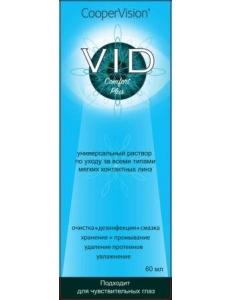 Раствор  Vid Comfort plus 60 мл , , 7.00 руб., VID Comfort Plus 60 мл , Cooper Vision (США), Растворы для линз