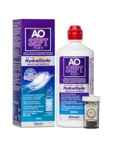 Пероксидная система Aosept Plus HydraGlyde 360 мл, , 18.00 руб., AOSEPT PLUS Plus HydraGlyde 360 мл, Alcon (США), Растворы для линз