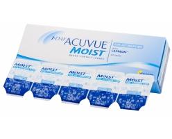 Контактные линзы 1-Day acuvue moist (мин. заказ 10 линз)