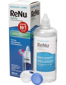 Раствор ReNu MultiPlus 360 мл , , 16.00 руб., ReNu MultiPlus 360 мл , Bausch & Lomb (США), Растворы для линз