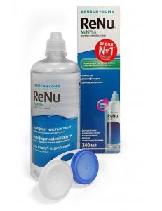 Раствор ReNu MultiPlus 240 мл, , 13.00 руб., ReNu MultiPlus 240 мл , Bausch & Lomb (США), Растворы для линз