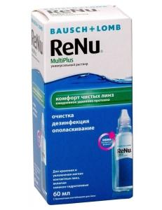Раствор ReNu MultiPlus 60 мл, , 6.00 руб., ReNu MultiPlus 60 мл , Bausch & Lomb (США), Растворы для линз