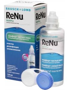 Раствор ReNu MultiPlus 120 мл, , 8.50 руб., ReNu MultiPlus 120 мл , Bausch & Lomb (США), Растворы для линз