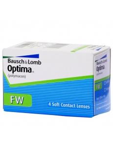 Контактные линзы Optima FW, , 7.50 руб., Optima FW, Bausch & Lomb (США), Контактные линзы