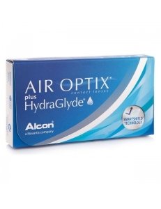 Контактные линзы Air Optix Plus HydraGlyde, , 11.00 руб., Air Optix Plus HydraGlyde, Alcon (США), На месяц