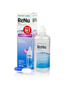 Раствор ReNu MPS 240 мл, , 13.00 руб., ReNu MPS 240 мл, Bausch & Lomb (США), Растворы для линз